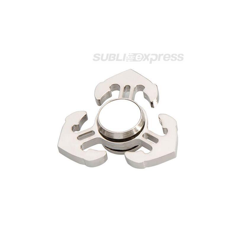 Szublimációs Fém spinner horgony alakú