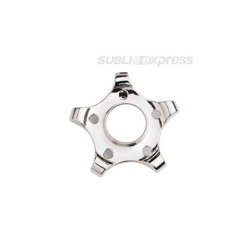 Szublimációs Fém spinner ötágú fogaskerék alakú