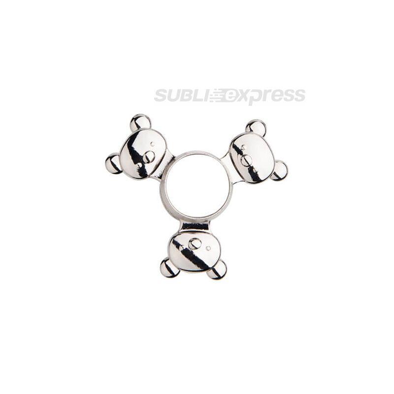 Szublimációs Fém spinner panda alakú