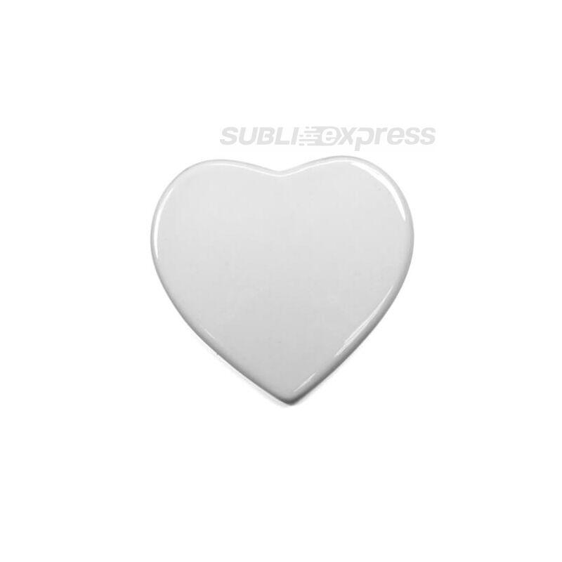 10 cm-es kerámia lap szív alakú