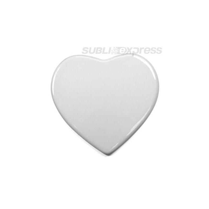 15 cm-es kerámia lap szív alakú
