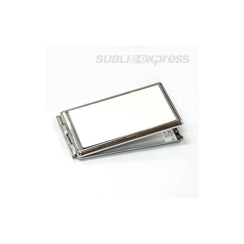 Szublimációs szögletes tükör jegyzettömbbel