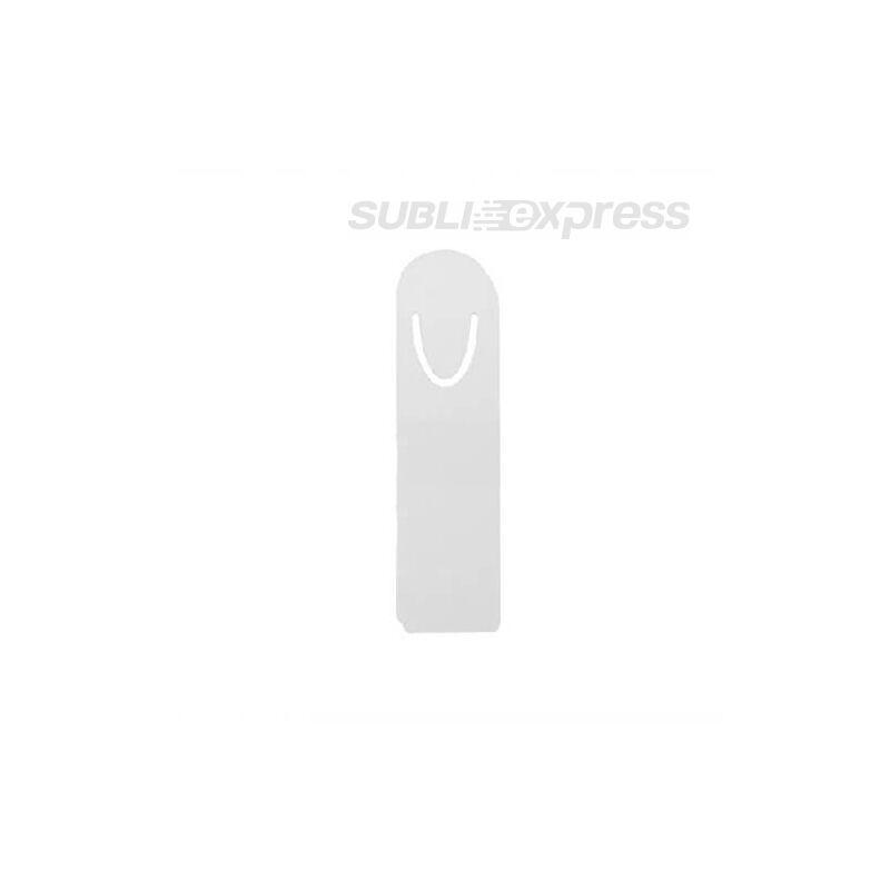 Szublimációs fém könyvjelző ezüst színű nagy