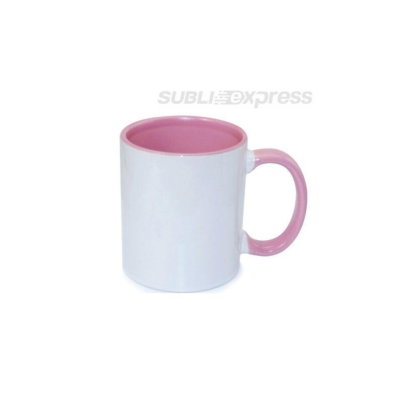 330 ml-es bögre rózsaszín belső JS bevonattal
