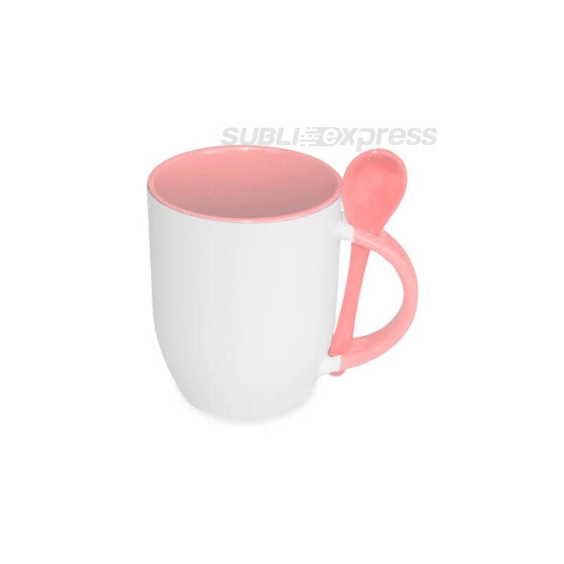 Bögre rózsaszín kanallal JS bevonat