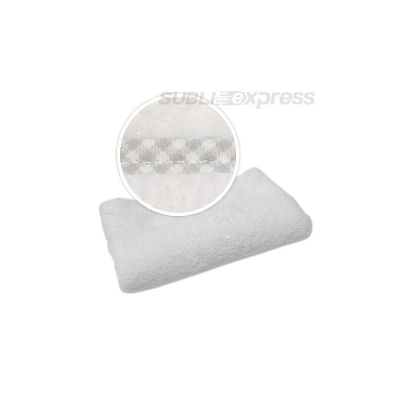 Szublimációs takaró szürke kockás szegéllyel
