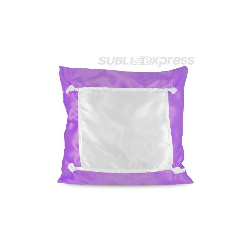 40 x 40 cm-es szublimációs Eco párnahuzat lila