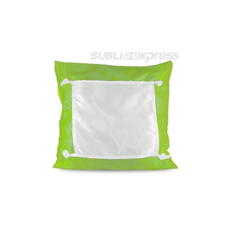 40 x 40 cm-es szublimációs Eco párnahuzat zöld