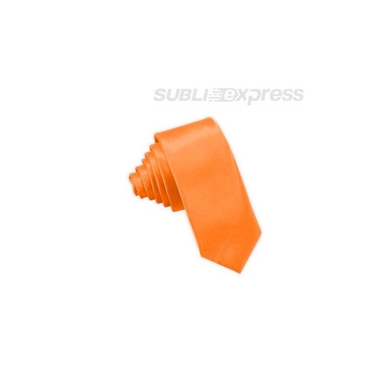 Szublimációs nyakkendő narancssárga