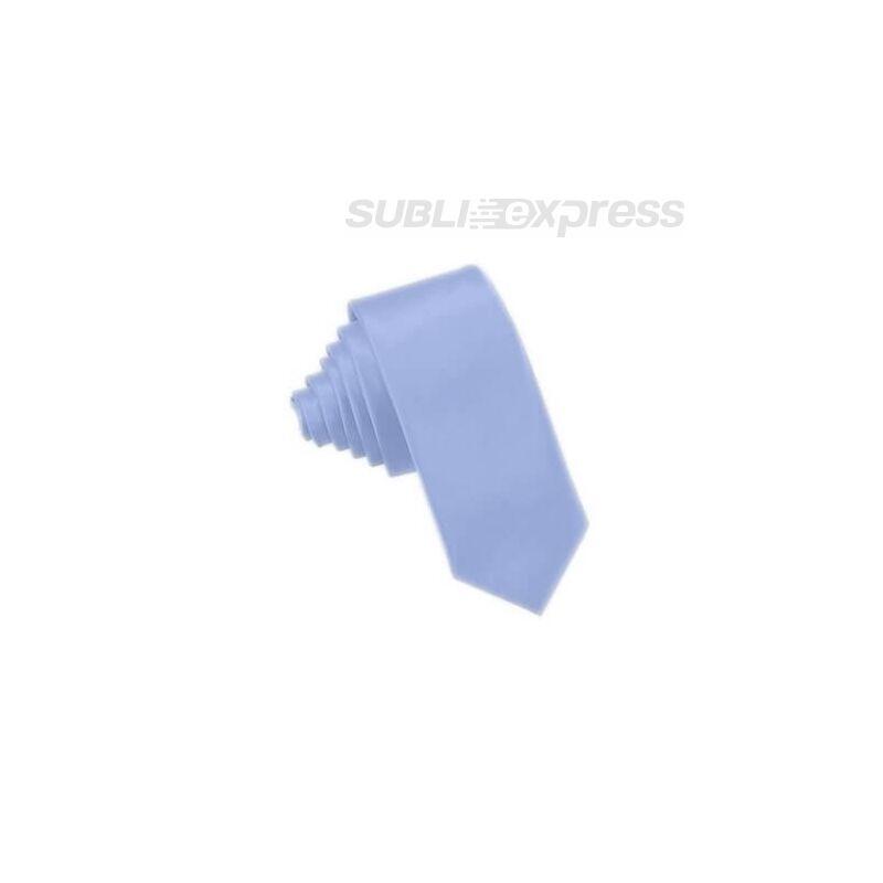 Szublimációs nyakkendő világoskék