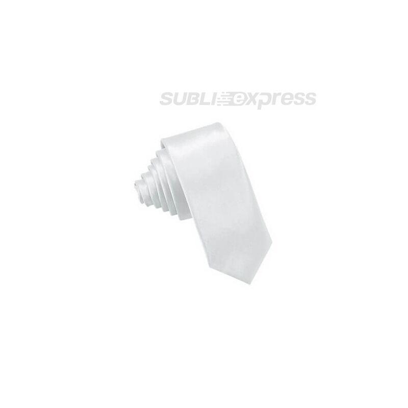 Szublimációs nyakkendő fehér