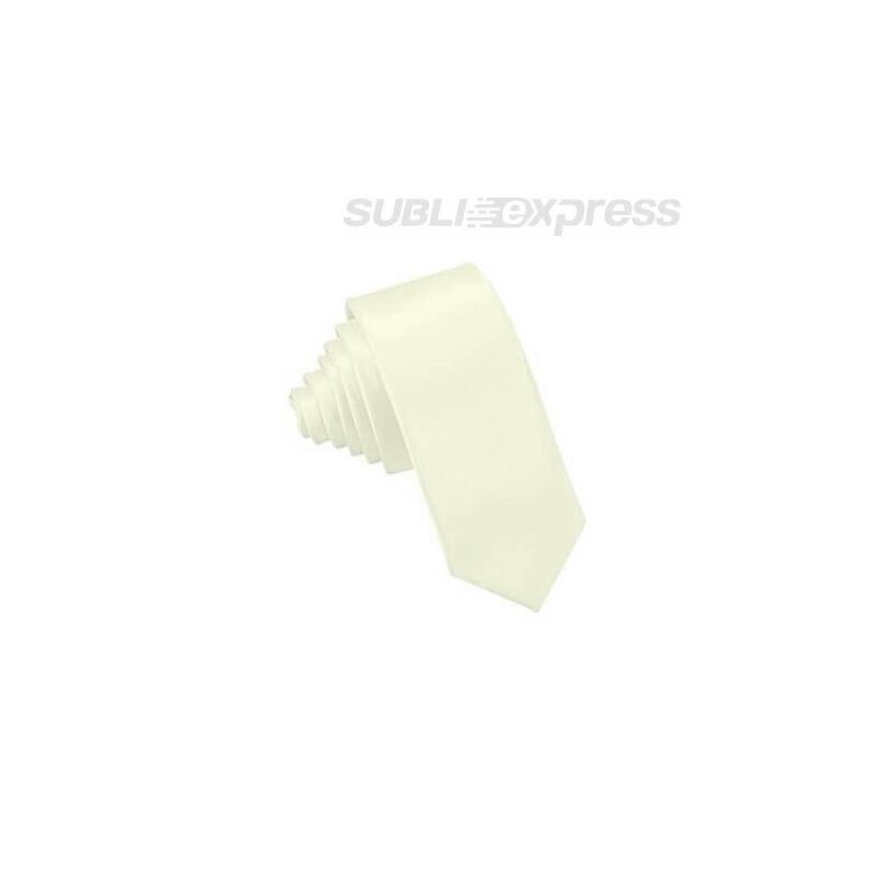 Szublimációs nyakkendő krémszínű