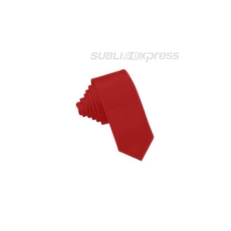 Szublimációs nyakkendő sötétpiros