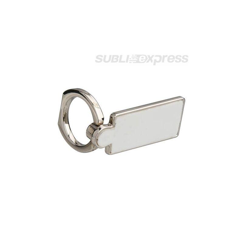 Szublimációs tartó gyűrű okostelefonhoz négyzet alakú