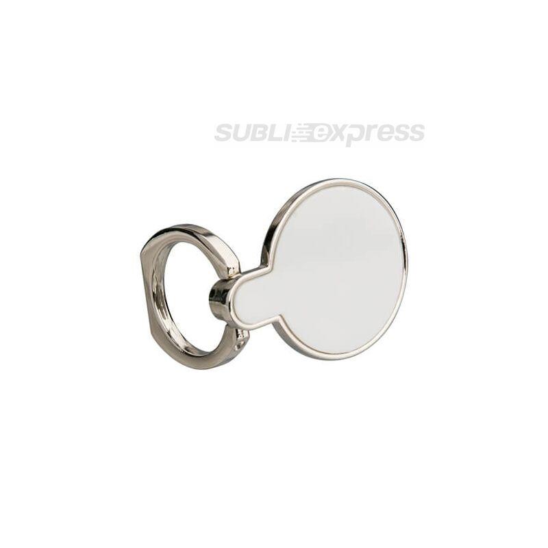 Szublimációs tartó gyűrű okostelefonhoz kör alakú