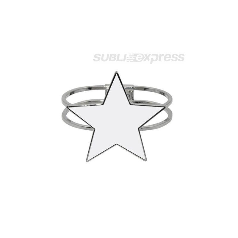 Szublimációs karkötő csillag alakú