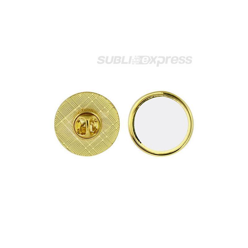 Szublimációs kör alakú alapok arany színű