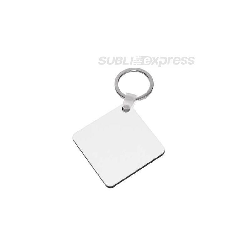 Szublimációs MDF kulcstartó négyzet alakú