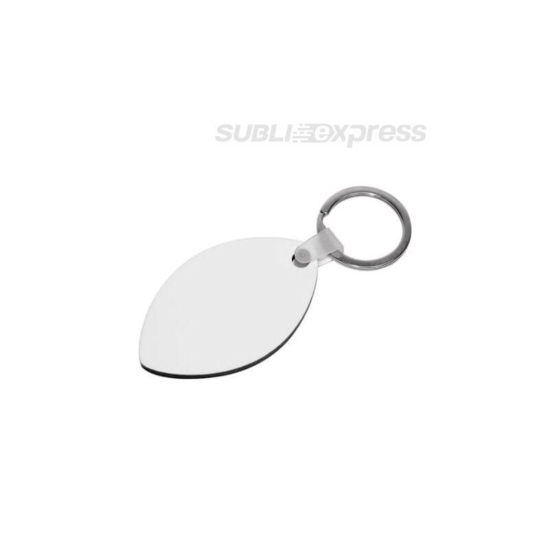 Szublimációs MDF kulcstartó rögbi labda alakú