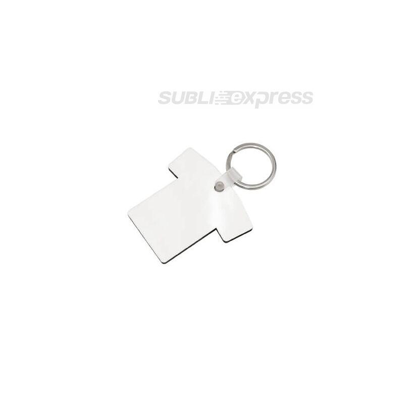 Szublimációs MDF kulcstartó póló alakú