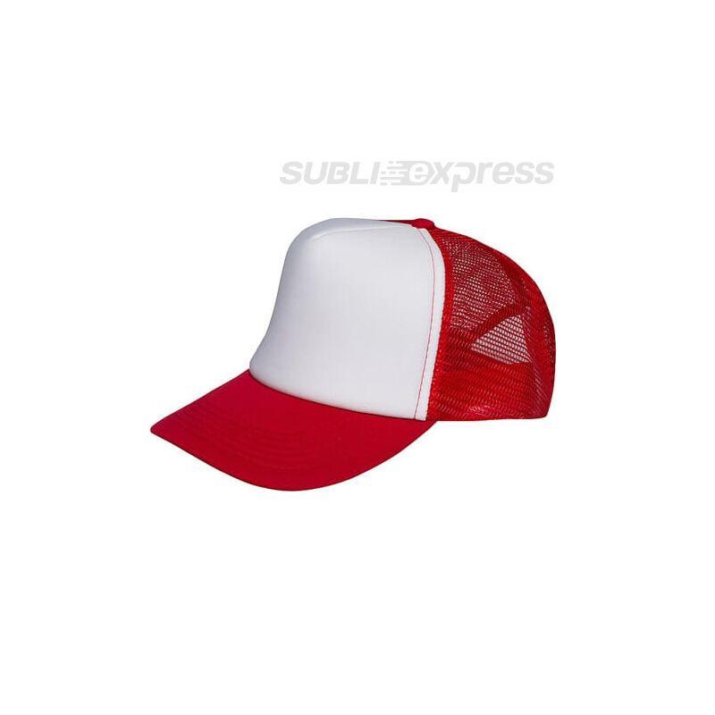 Szublimációs baseball sapka piros