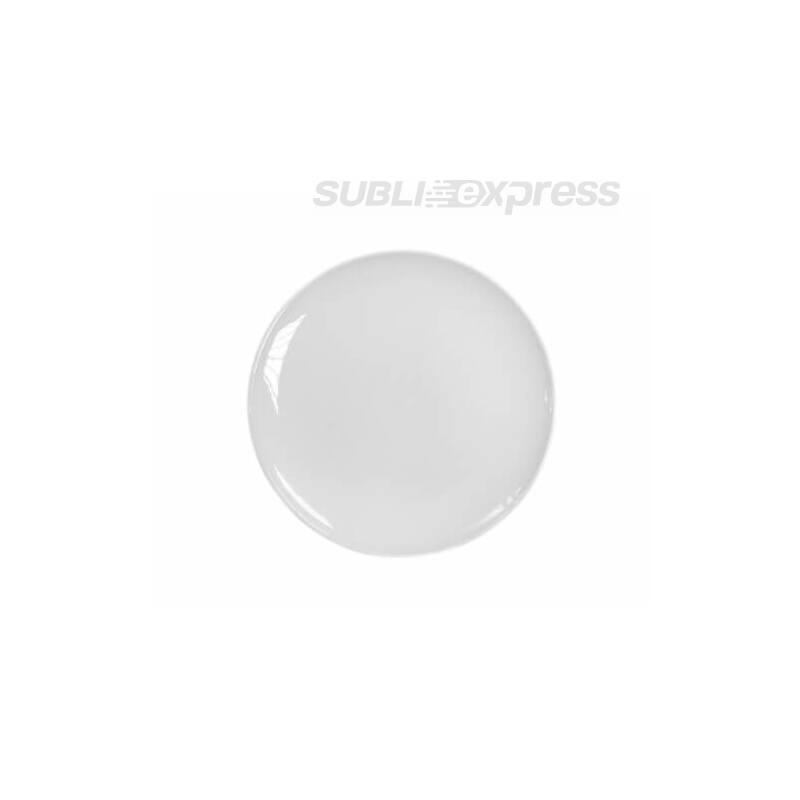 31 cm-es szublimációs tányér állvánnyal