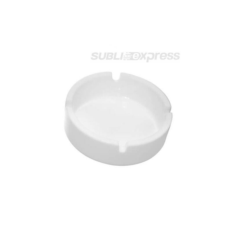Szublimációs műanyag hamutál fehér