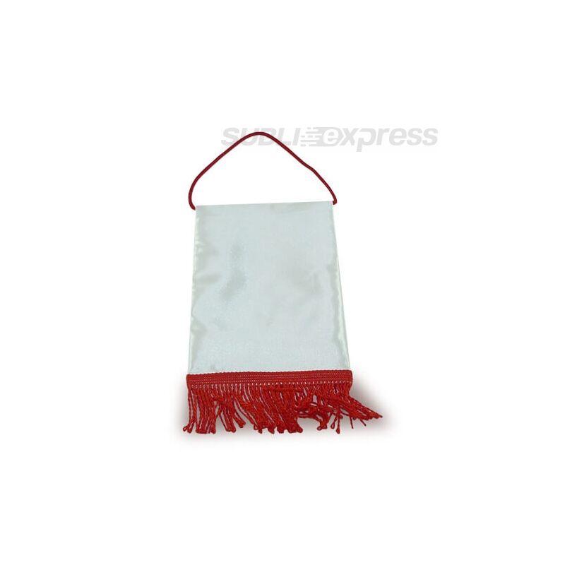 15 x 20 cm-es szublimációs asztali zászló piros
