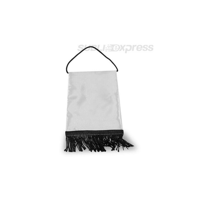 15 x 20 cm-es szublimációs asztali zászló fekete