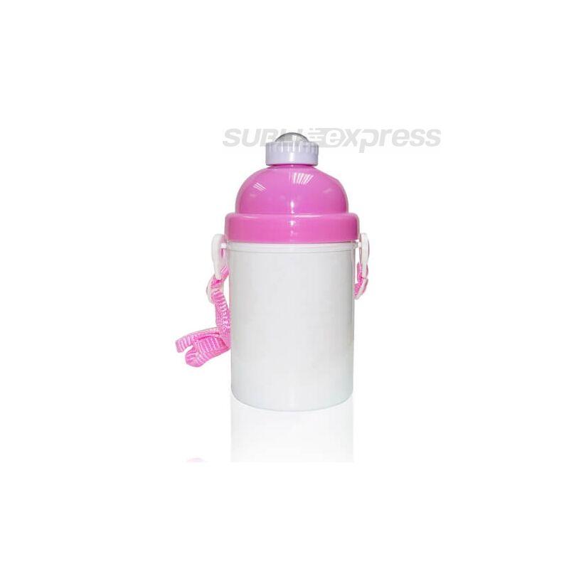 Szublimációs gyerek kulacs rózsaszín