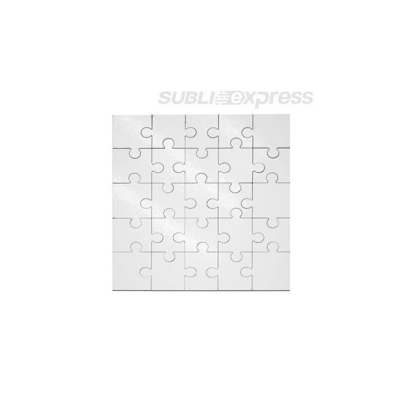17 x 17 cm-es szublimációs MDF puzzle 25 darabos
