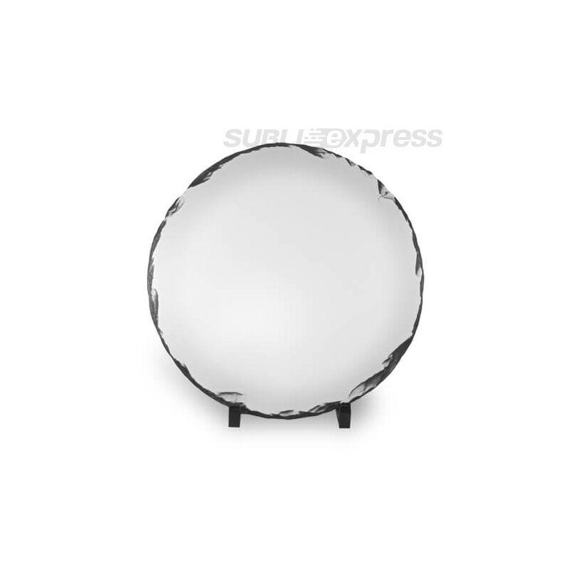 30 cm átmérőjű szublimációs gránit kör alakú