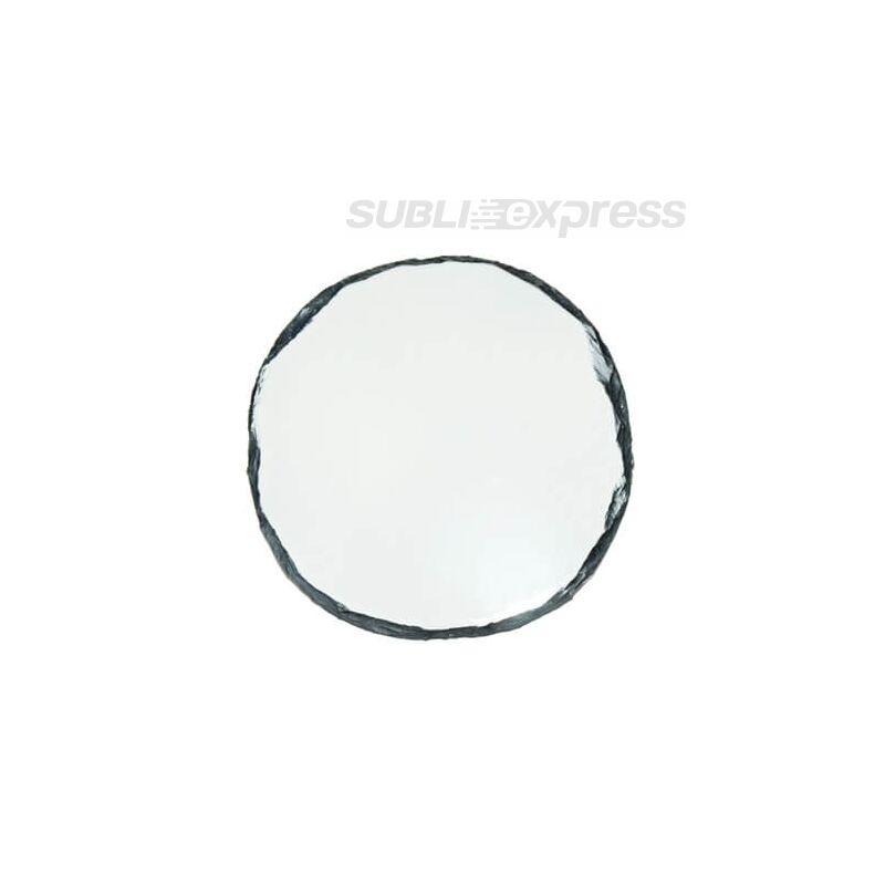 14 cm átmérőjű szublimációs gránit kör alakú