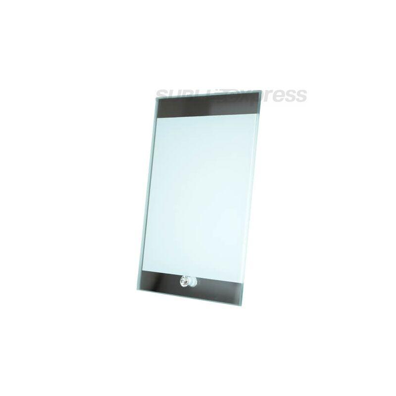 15 x 23 cm-es szublimációs üveg fotókeret