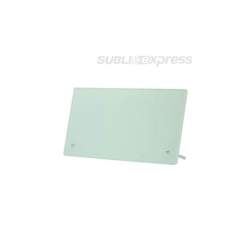 27,5 x 14,5 cm-es szublimációs üveg fotókeret