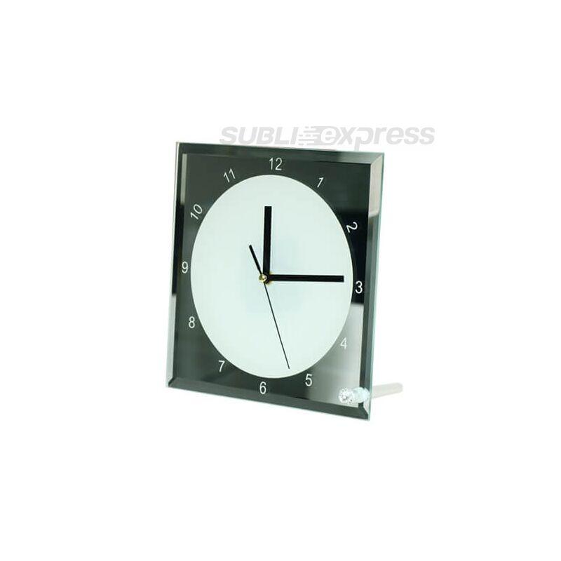 20 x 20 cm-es szublimációs óra üveg kerettel