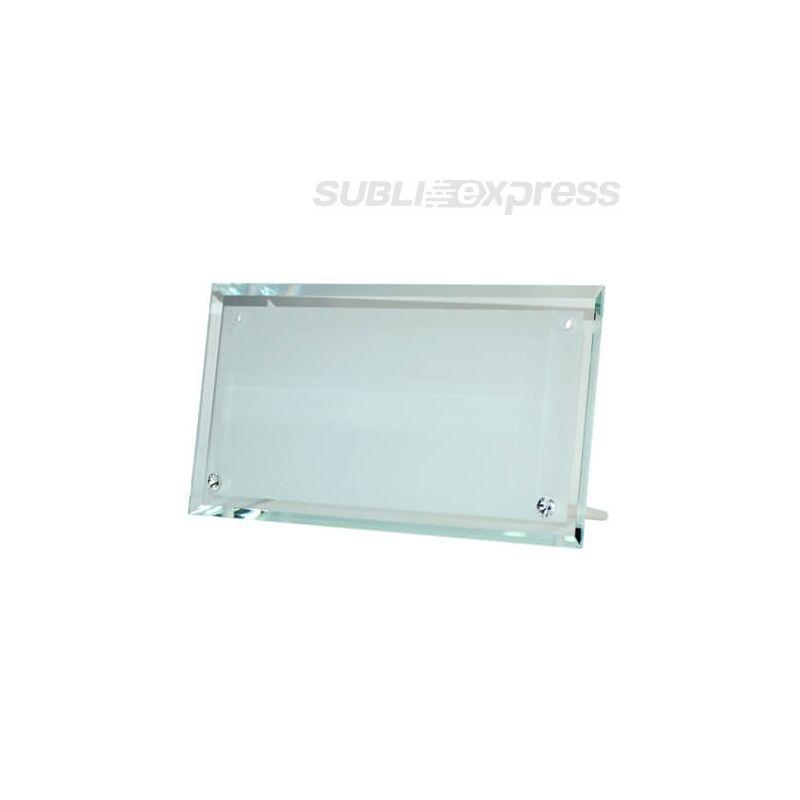 30 x 16 cm-es szublimációs üveg fotókeret