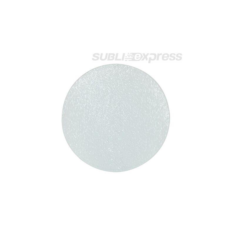10 cm átmérőjű szublimációs üveg alátét kör alakú