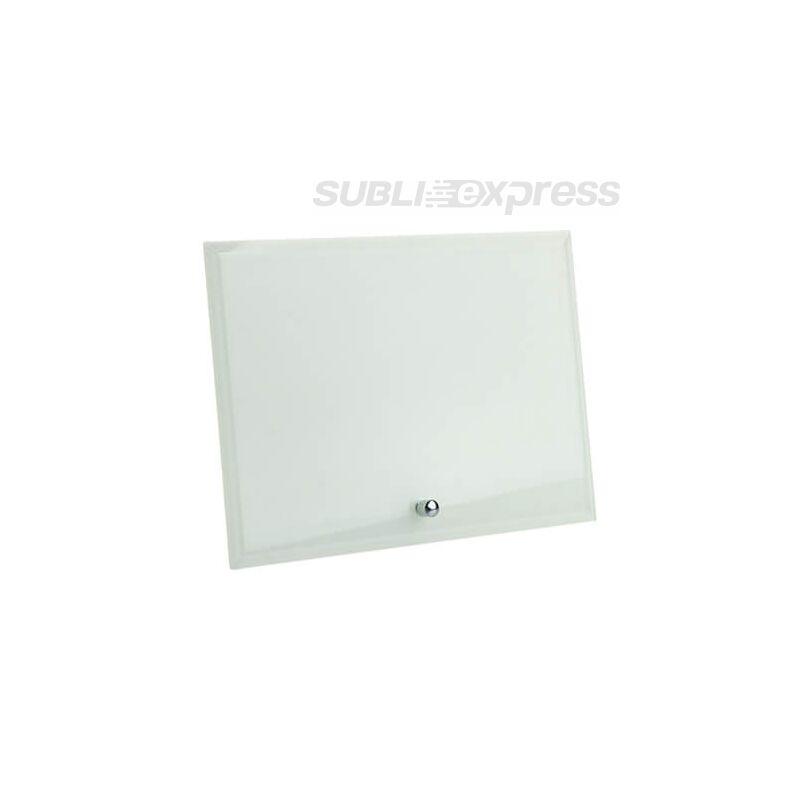 17,8 x 12,7 cm-es szublimációs üveg fotókeret