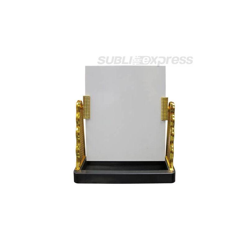 Szublimációs üveg fotókeret arany kerettel
