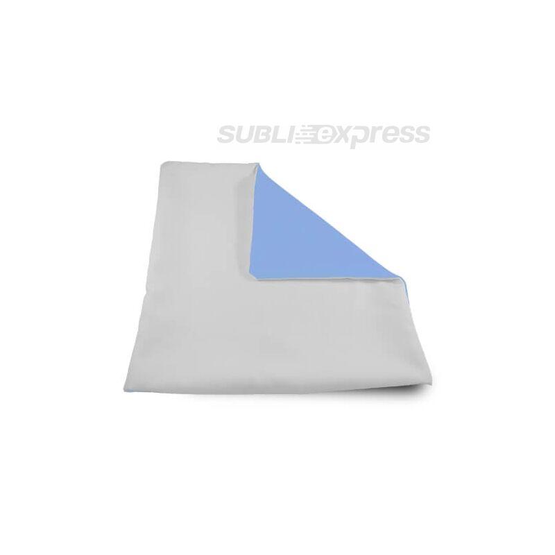 32 x 32 cm-es szublimációs párnahuzat puha világos kék