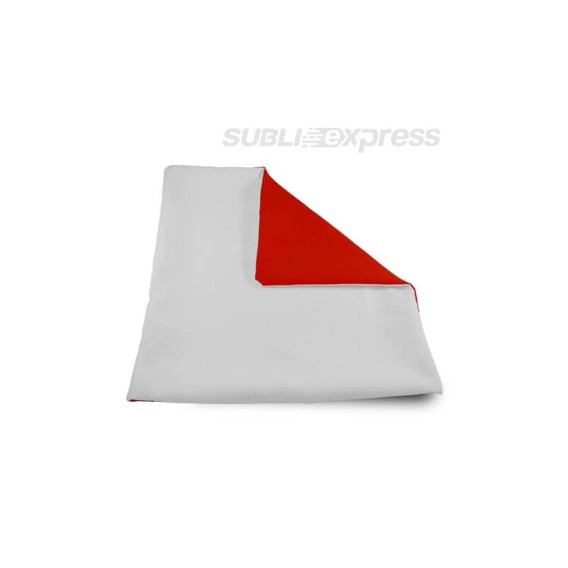 32 x 32 cm-es szublimációs párnahuzat puha piros