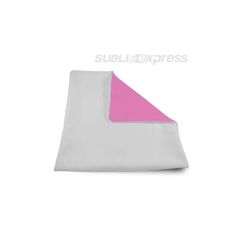 32 x 32 cm-es szublimációs párnahuzat puha rózsaszín
