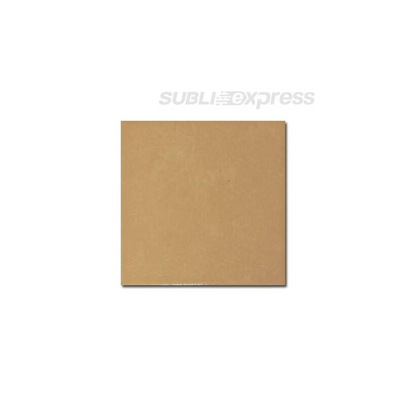 10 x 10 cm-es szublimációs kerámia csempe fényes barna