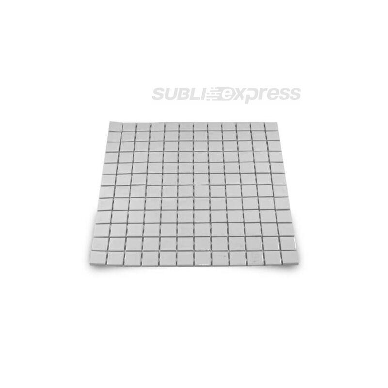 2,3 x 2,3 cm-es szublimációs kerámia mozaik fényes 144 darabos
