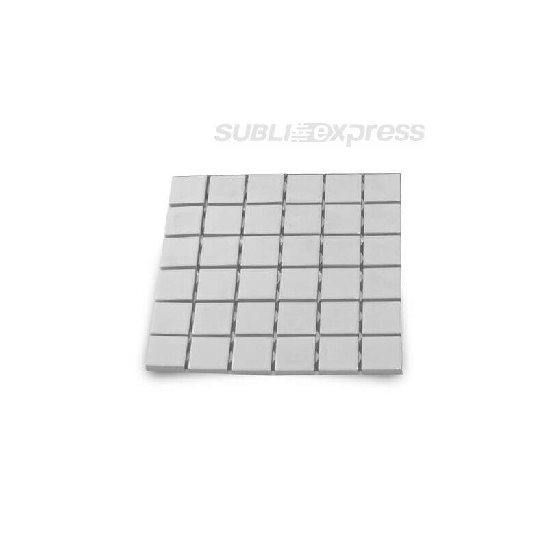 4,8 x 4,8 cm-es szublimációs kerámia mozaik fényes 36 darabos