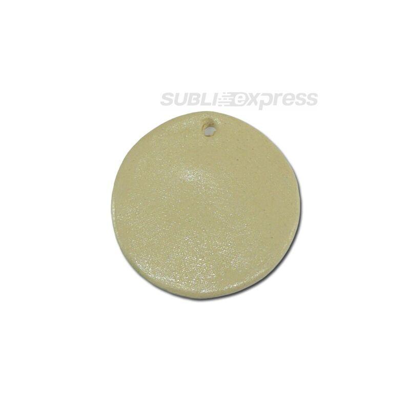 4,5 cm-es átmérőjű szublimációs kerámia csempe kör alakú