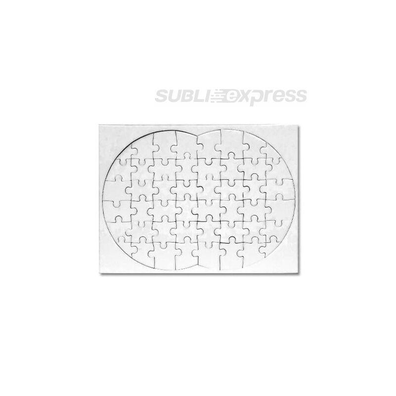 """20 x 28 cm-es szublimációs puzzle """"nyolcas alakú"""" 48 darabos"""