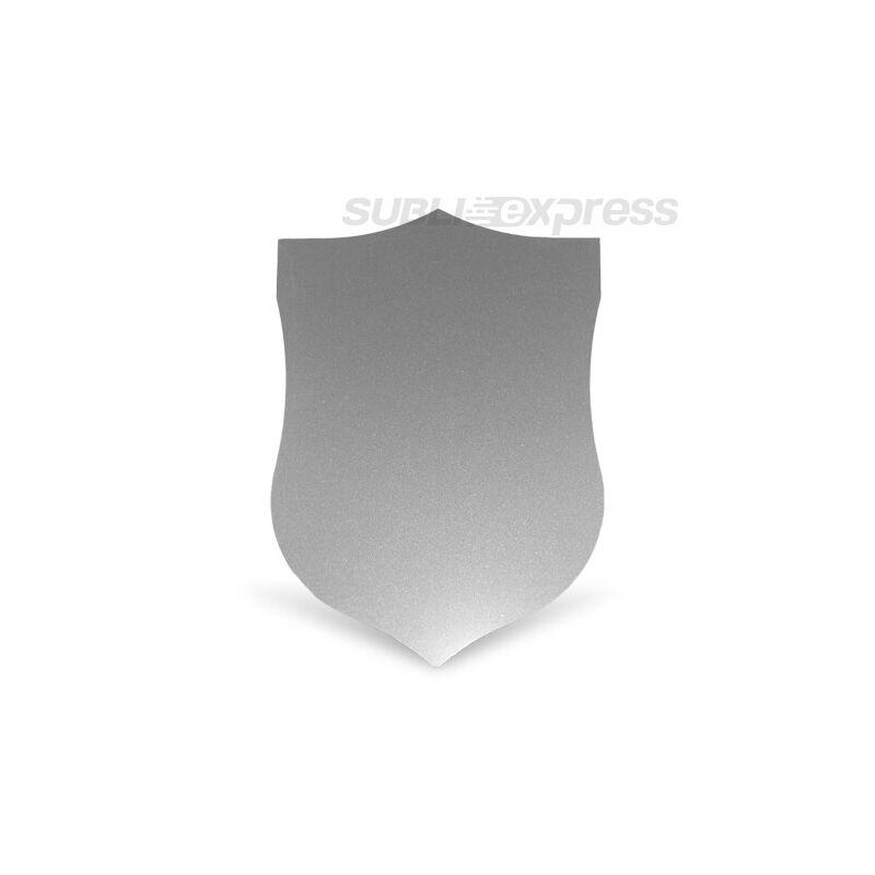 Szublimációs acéllap pajzs alakú ezüst színű