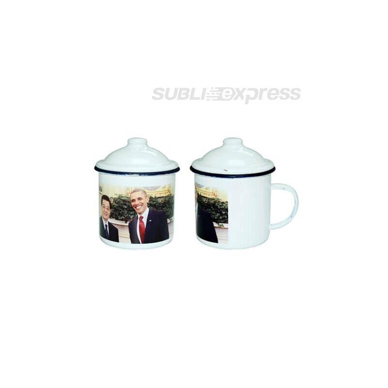Szublimációs klasszikus zománcozott csésze
